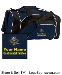 Continental Pirates Duffel Bag Design Zoom